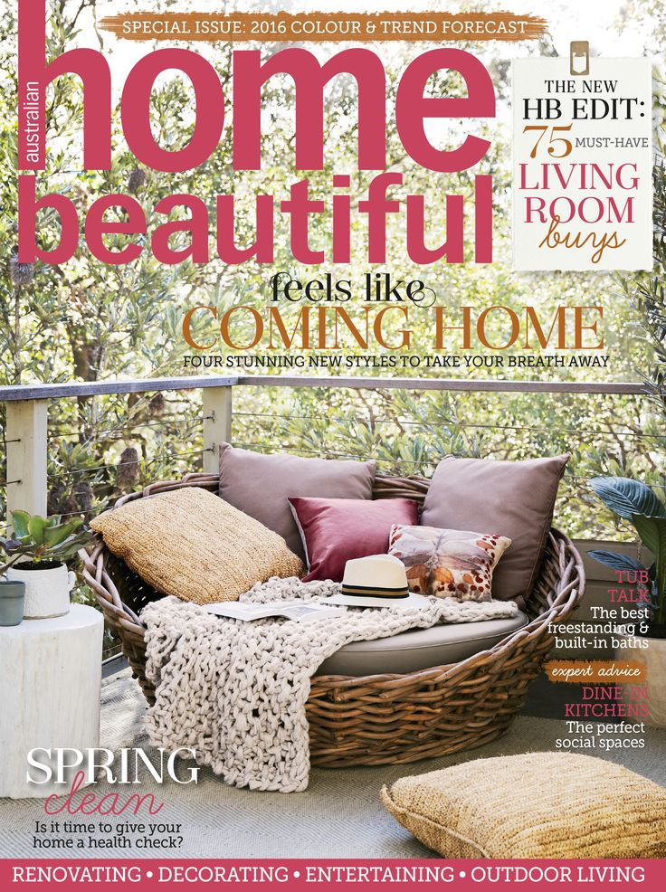 Home Beautiful October 2015