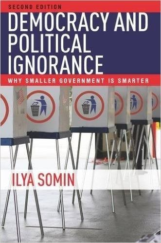 [Ilya Somin] My very first article on the dangers of political ignorance