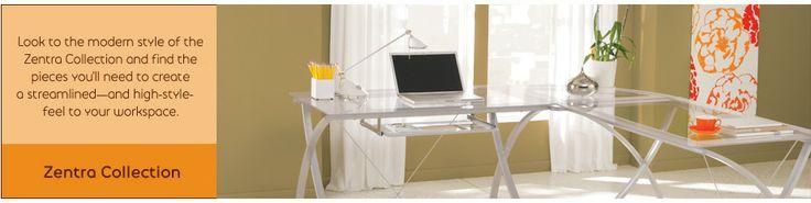 Brenton Studio Zentra Collection- Office Max Main desk- $99 48x28x30 Corner- $49 28x28 Computer desk- &129 48x29x30