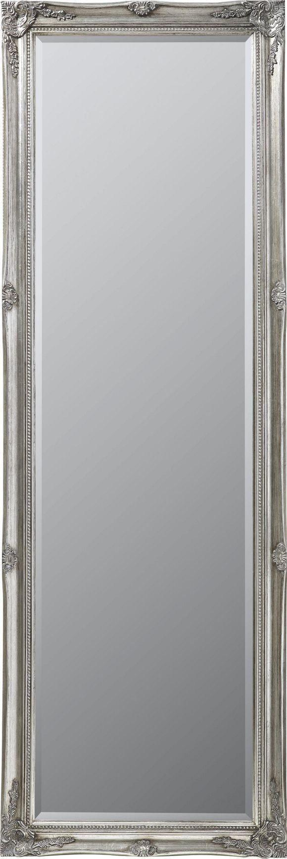 Ein+Spiegel+mit+klassischer+Ausstrahlung:+LANDSCAPE+bringt+mit+dem+Rahmen+aus+Tannenholz+eine+natürliche+Eleganz+in+Ihr+Zuhause.+Der+hochwertige+Facettenschliff+und+der+antike+Look+in+Silberfarbe+richten+sich+an+Stilbewusste.+Die+großzügigen+Maße+von+ca.+75+x+195+cm+ermöglichen+eine+perfekte+Betrachtung+von+Kopf+bis+Fuß.+Dieser+Spiegel+hat+das+gewisse+Etwas!