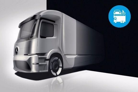 """E' iniziato il conto alla rovescia per """"E-Truck"""", ovvero il primo camion elettricoal mondo con le batterie sotto il cofano.Per ora è una serie limitata alle 25t, con le prime vendite annunciate a fine anno!..."""