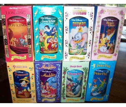 Disney cups from Burger King- they need to bring these back!