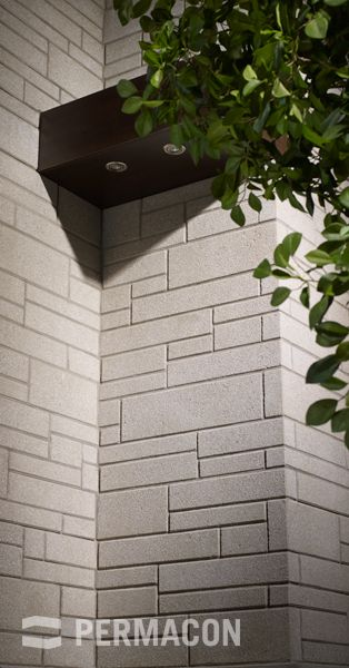 Lexa Stone Range Alpine Grey permacon.ca  available at our store at 3500 Mavis Rd, Mississauga, ON L5C 1T8