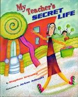 My Teacher's Secret Life reading/writing innovation to make a class book - Priceless!