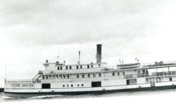 The first and only diesel propelled riverboat, the D.J. Purdy 1 voyaged from 1924 till 1946. She was the last boat to give regular service on the St. John River.