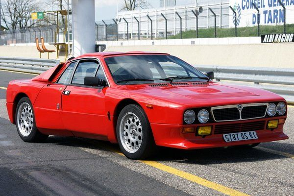 1982 Lancia 037 Stradale. This was a unique car made by Abarth & Lancia.