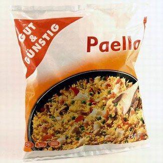 """No-Name-Produkt """"Gut und Günstig Paella"""" - No-Name vs. Markenprodukt: Welche Marke steckt dahinter? - © Ralf-Michael Wagner, Frank Flamme Die """"Gut und Günstig Paella"""", die es bei Edeka gibt, ist zu vergleichen mit der..."""