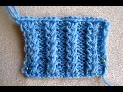 """ВЯЗАНИЕ ДЛЯ НАЧИНАЮЩИХ! РЕЗИНКА""""ЦЕПОЧКА""""!Knitting"""