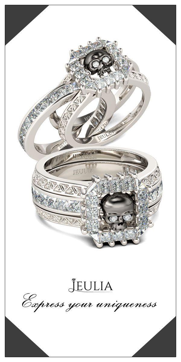UK/_ LC/_ Princess Cut Rhinestone Bridal Wedding Silver Plated Finger Ring Jewelry