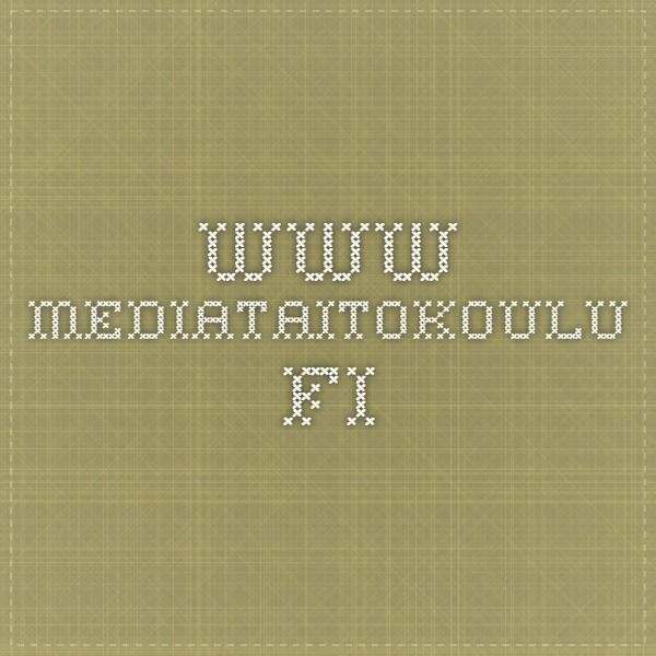 www.mediataitokoulu.fi