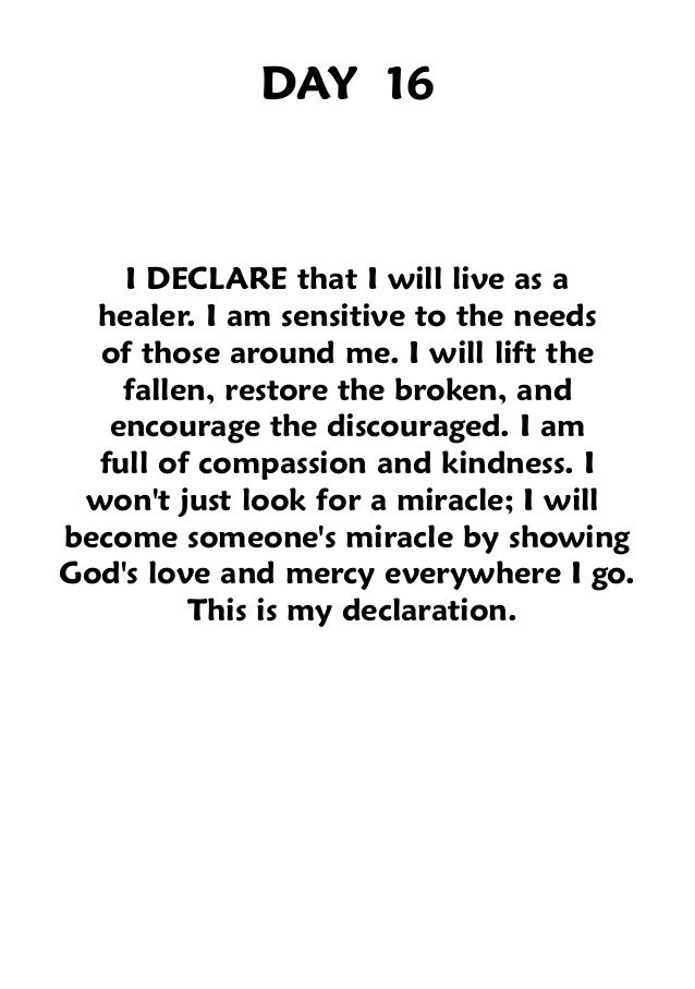 This should be every Christian's goal in life.- I DECLARE JOEL OSTEEN
