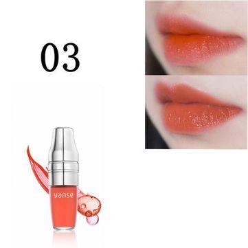 Shake Air Cushion Lip Glaze Gloss Liquid Waterproof Makeup Moisturizing Long-lasting 6 Colors at Banggood