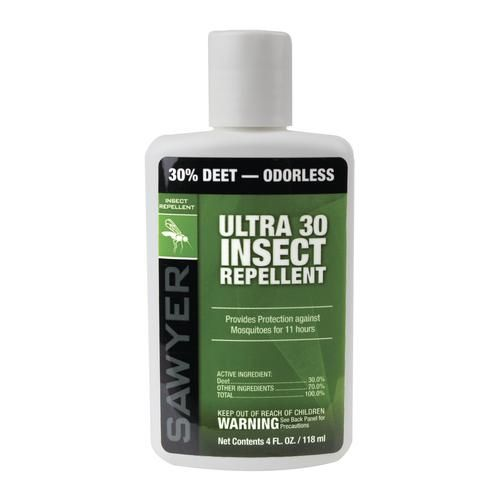 Sawyer® Ultra 30% DEET Insect Repellent - 4 oz. at Menards®: Sawyer® Ultra 30% DEET Insect Repellent - 4 oz.