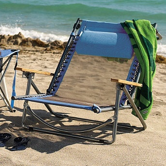 Breezy beach recliner our extremely lightweight breezy for Breezy beach chaise