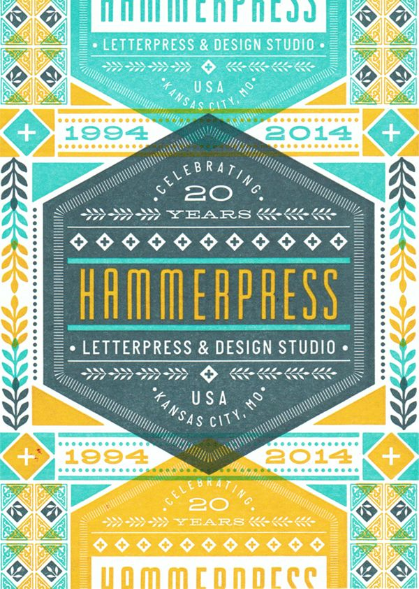 Hammerpress 20th Anniversary. Got one of these beauties in the mail yesterday.. Going to be a great time to celebrate with some friends.