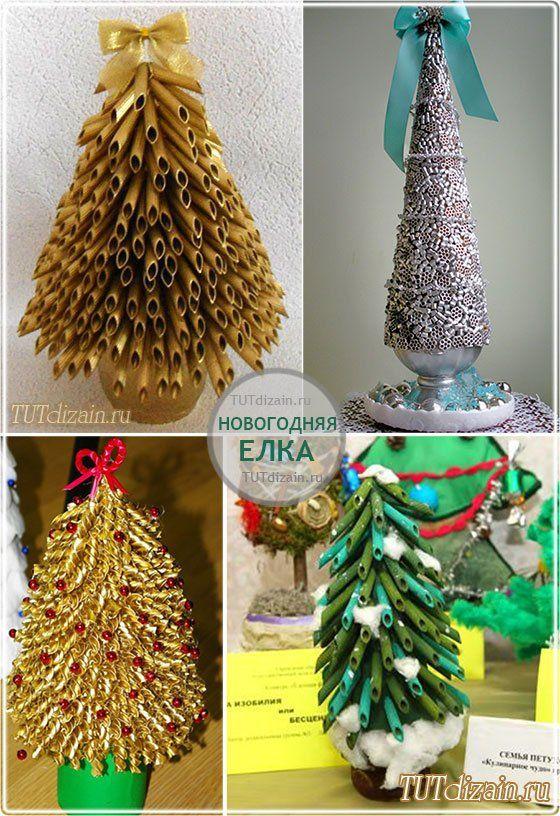 Новогодняя елка. Идеи » Дизайн & Декор своими руками