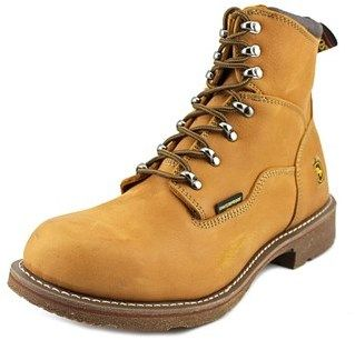 Dan Post Detour Lace Up Waterproof W Round Toe Leather Work Boot.
