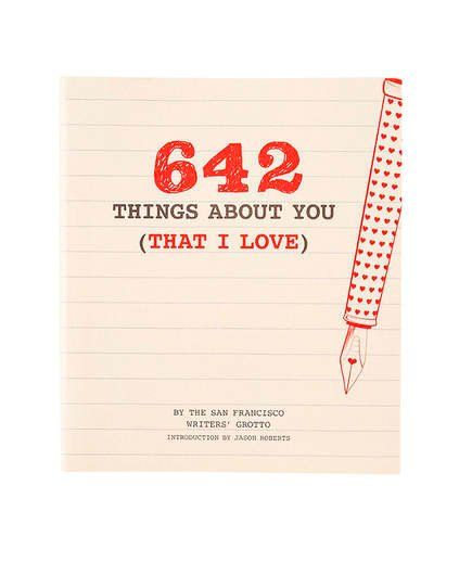 Romantic Christmas Gifts for a Husband   642 Things About You That I Love