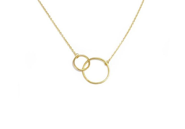 Interlocking Circle Necklace – Amanda Deer Jewelry