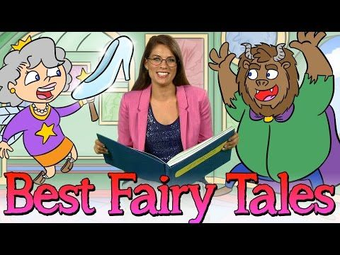 30 Minutes of the Best Fairy Tales! | Story Time Favorites w/ Ms. Booksy at Cool School - YouTube