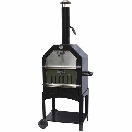 La Hacienda Uk Ltd 56107US Steel Pizza Oven & Smoker