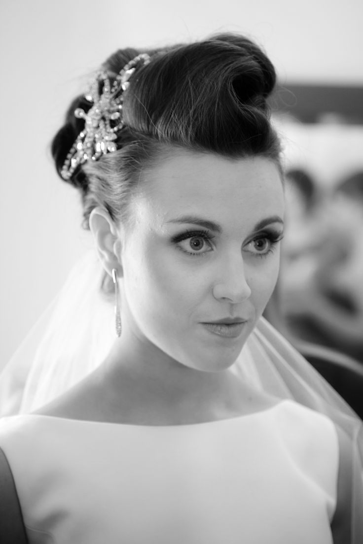 Wedding hair by Karin Stewart