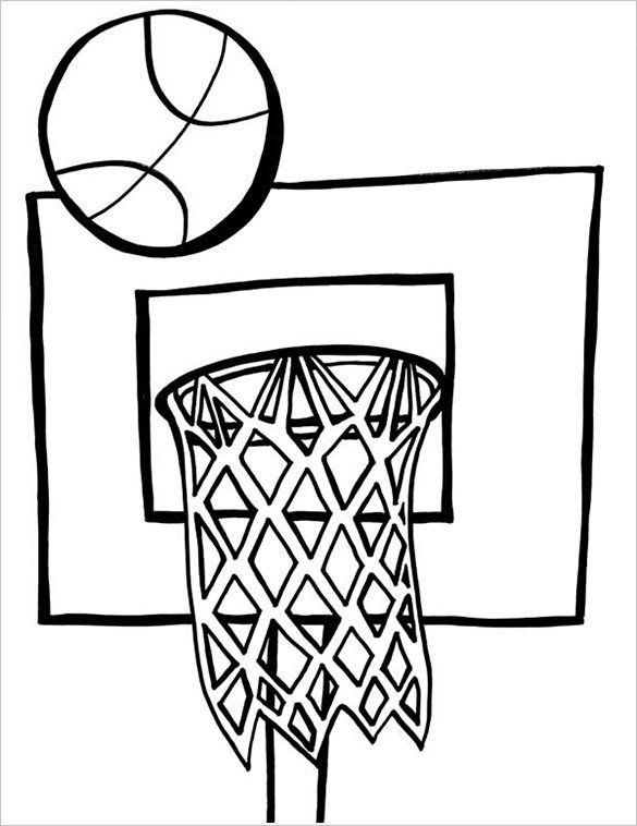 Basketball Coloring Pages For Kids 19 Basketball Coloring Pages Pdf Jpeg Png In 2020 Coloring Pages Inspirational Coloring Pages For Kids Coloring Pages