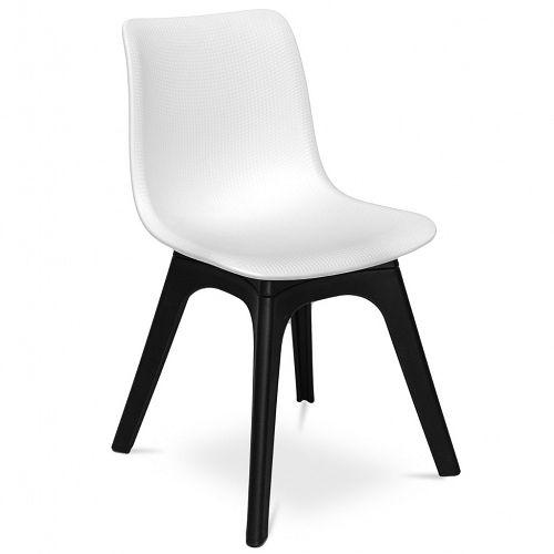 Krzesło MARTIN PLASTIC biały - Sklep meblownia.pl
