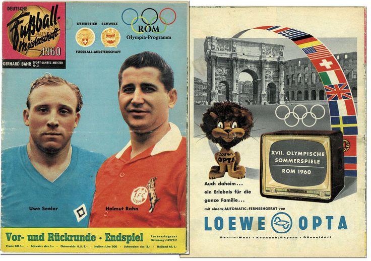 Bahr Fußball Meisterschaft 1960 DFB Oberliga Jahrbuch Hamburger SV 1.FC Köln  | eBay