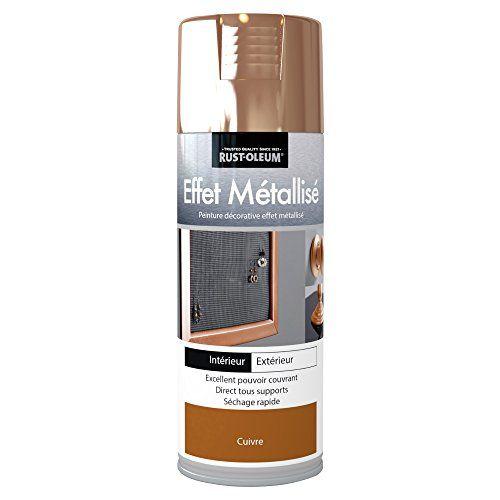 Rust-Oleum AE0078400FR Effet Métallisé Peinture Cuivre: Tous supports Excellent pouvoir couvrant Séchage rapide L'article Rust-Oleum…