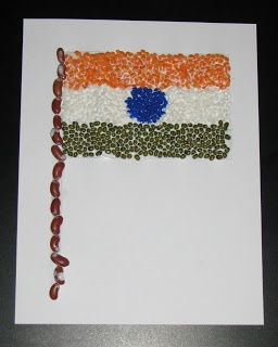 Pulses Triranga Flag !!! ~ Putti's World-kids-activities
