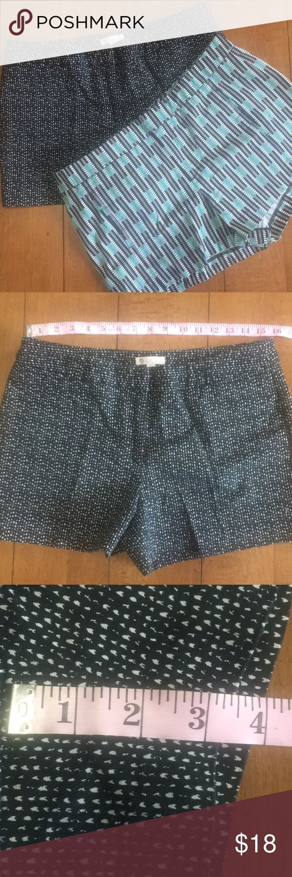 2 pair of shorts size 10 Gap size 10  Lila Rose size 10  See pictures for measurements  Smoke free and pet free This is for 2 shorts Shorts