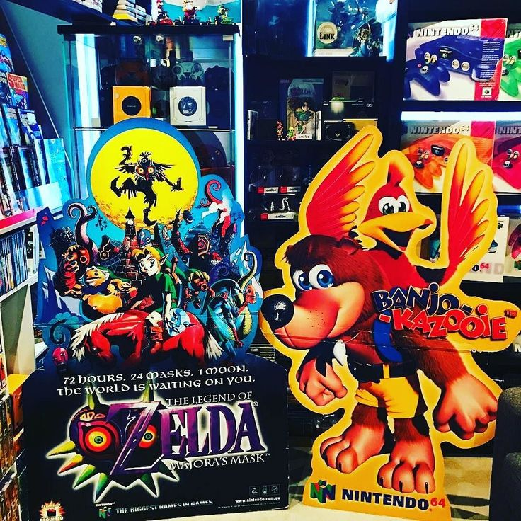 Morning all!!! Throwback Thursday yay!! Who remembers banjo-kazooie? It was my favourite Nintendo 64 game. Photo credit: @nintendodownunder  More standee spam!  #nintendo #nes #snes #n64 #gamecube #wii #wiiu #nintendoswitch #gameboy #3ds #playstation #xbox #mario #zelda #pokemon #retrogaming #gamer #gaming #amiibo #collection #fun #happy #australia #life #love