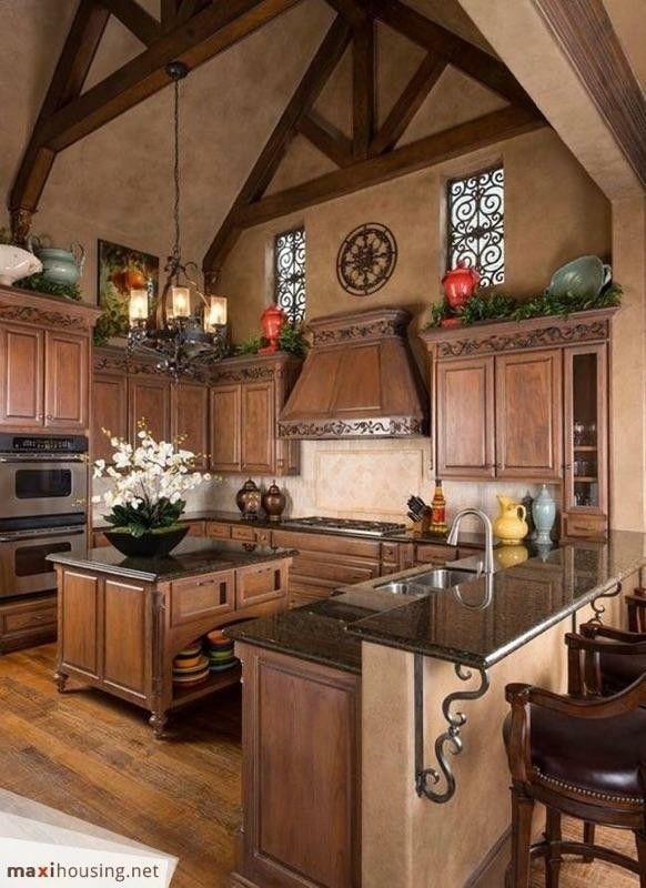 Lovely Tuscan Kitchen Design Photos