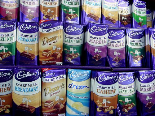 """Apart from """"Dreams"""" I never knew Cadbury's did these other flavours!"""