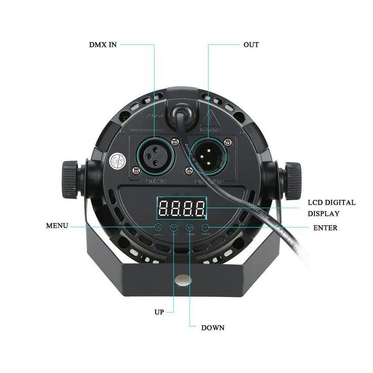 12 LED Par Stage Light 20W DMX 512 Dream Color Light for Club Sales Online eu - Tomtop.com
