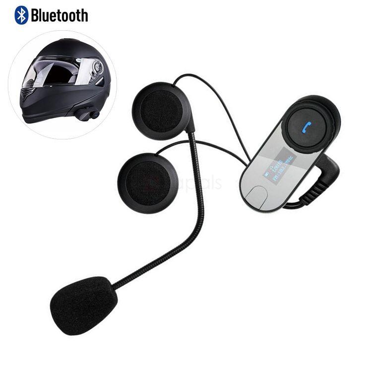 T-COM-SC 800M Wireless Bluetooth Motorcycle Helmet Intercom Headset
