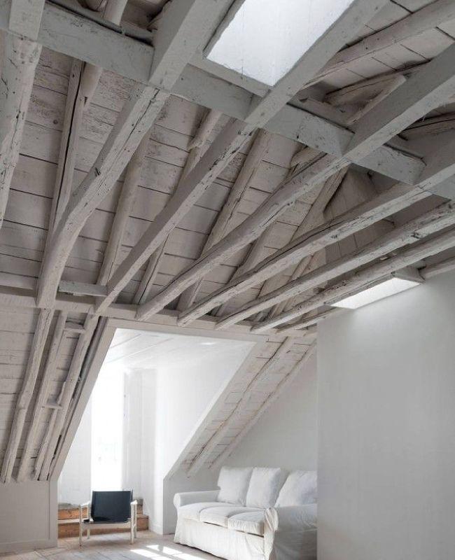 19 best Idées pour la maison images on Pinterest Exposed beams - deco maison avec poutre