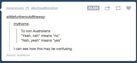 On language. | 29 Times Australians Were The Realest On Tumblr