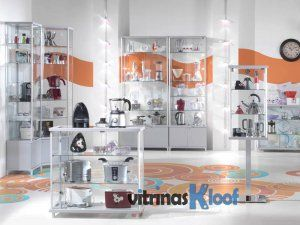 Vitrinas Kloof | Vitrinas de Aluminio