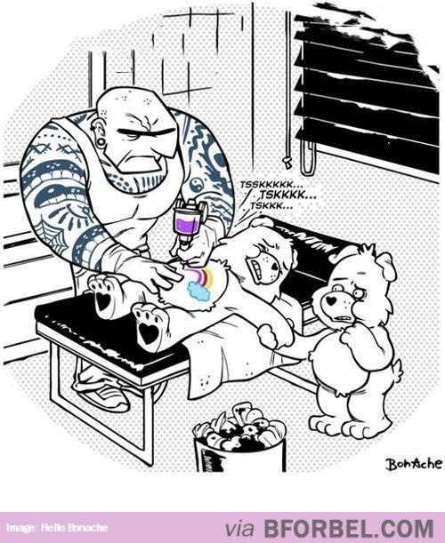 Care Bears Are Tough…