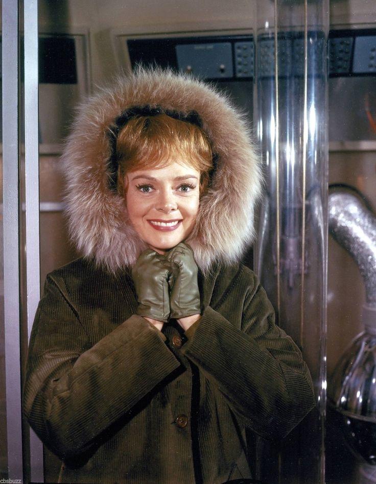 """June Lockhart in the Irwin Allen 1960's TV series """"Lost in Space"""""""