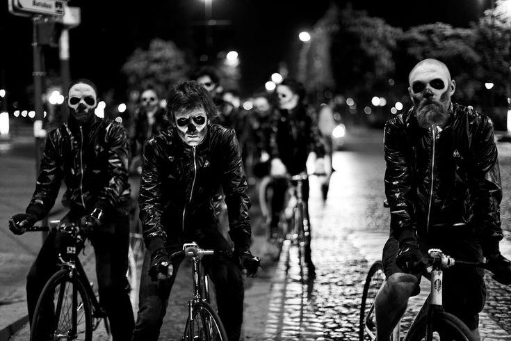 ...Bicycles, Skull, Ghosts Rider, Bikes Gang, Biker Gang, Dark, Bikes Riding, Zombies, Happy Halloween