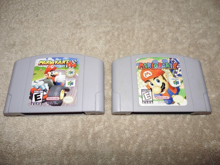 Mario Kart 64 and Mario Party for Nintendo 64 *Cartridges Only* N64: $90.00 End Date: Thursday Mar-15-2018 14:44:38 PDT Buy It Now for…