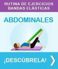 Ejercicios de abdominales con bandas elásticas #PilatesenCasa #pilatesparabrazos