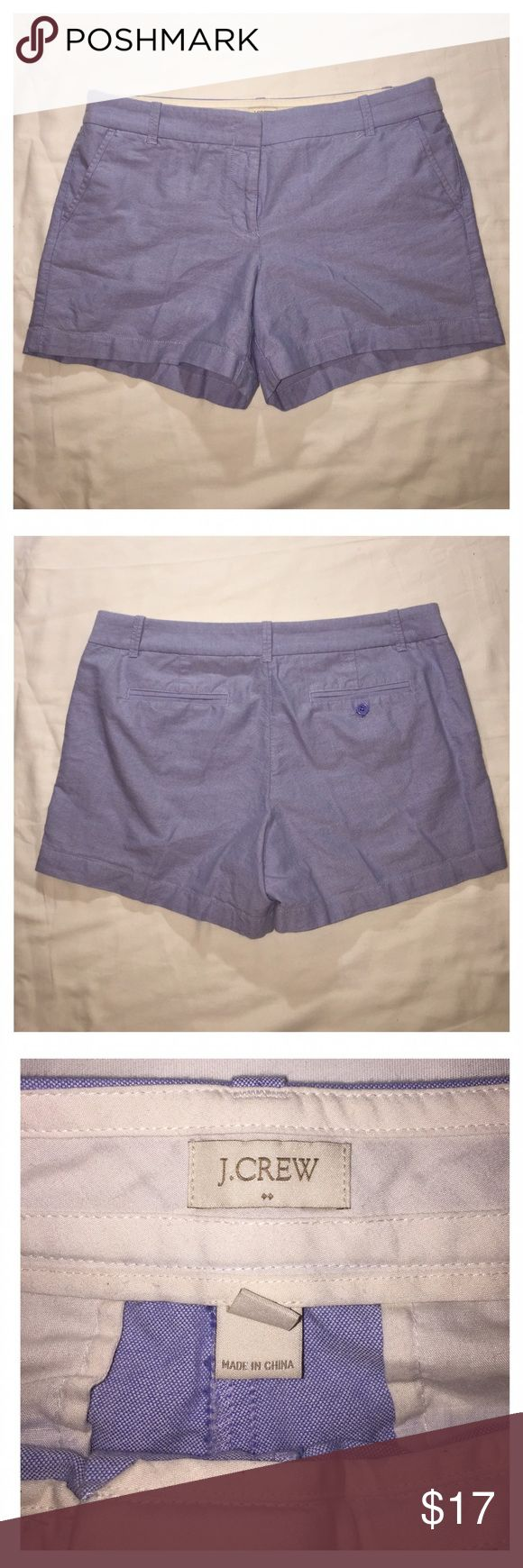 J.Crew light blue shorts J.Crew light blue shorts clean inside and out good condition 100% cotton J. Crew Shorts