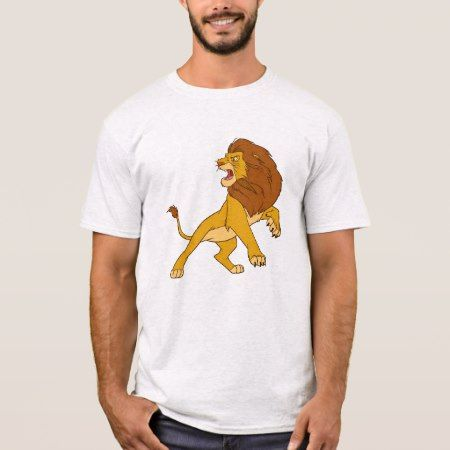 Lion King's Adult Simba Disney T-Shirt - click to get yours right now!