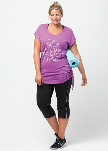 Virtu Hot Shot Top - Tap the pin if you love super heroes too! Cause guess what? you will LOVE these super hero fitness shirts!