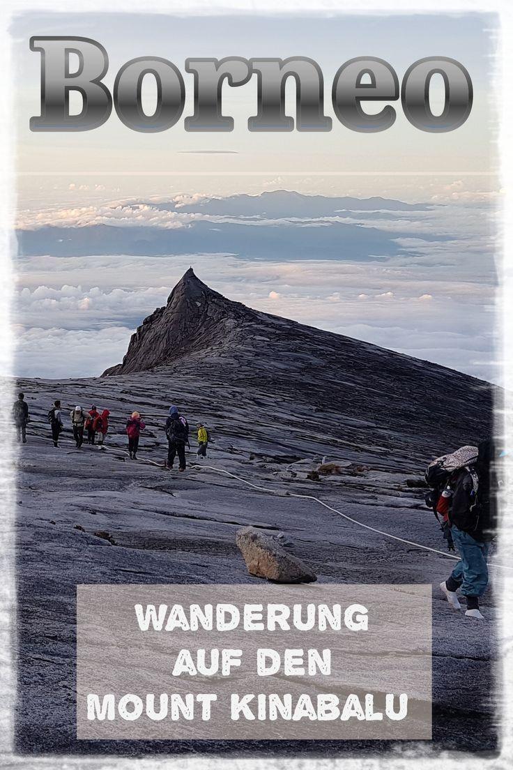 Borneo, Malaysia: Wanderung zum höchsten Berg Malaysias, dem Mount Kinabalu. …   – Reise