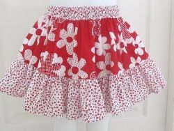 Easy Peasy Summer Skirt but would be a lovely apron too!